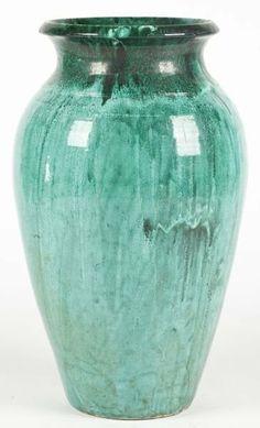 NC Pottery Floor Vase, att. Waymon Cole.