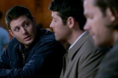 """""""John Winchester's not gonna win any #1 Dad awards, but damn if he wasn't there when we needed him."""" -Dean to Cas"""