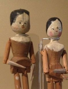 Two Penny dolls museum of childhood