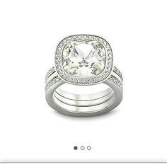 Swarowski Ring Simplicity ring 58 cry Swarovski Jewelry Rings