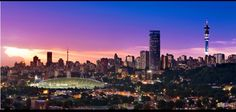 Johannesburg... My future home.