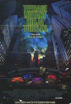 """Teenage Mutant Ninja Turtles (1990) - 5/5 """"I made a funny""""s"""