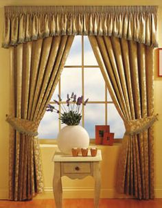 The Best Way to Make Curtains with Attached Valances ~ Curtains Design Needs