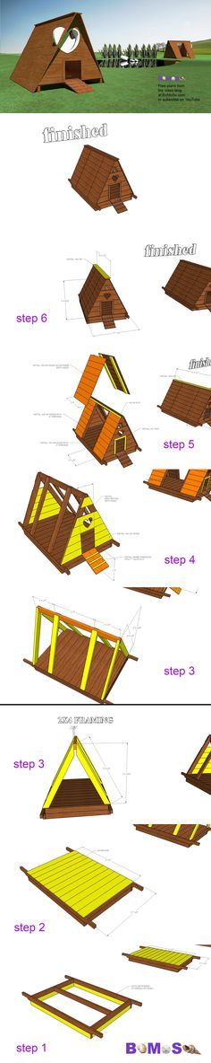 Design a duck house. Duck House, Free Plans, Tiny House Design, Play Houses, Shit Happens, How To Plan, Youtube, Blog, Design For Small House