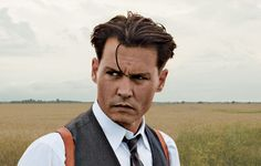 John Dillinger,great movie. Johnny Depp can do no wrong. He reminds me of an old movie star. And look at this man,is he not beautiful?!