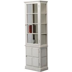 Tall and slender, the handsome distressed white cottage display cabinet is the perfect size for smaller spaces. Shop Cottage Chic cabinets now. White Cottage, French Cottage, Cottage Chic, French Country, Cottage Style Furniture, Shabby Chic Furniture, Blue Shabby Chic, Shabby Chic Decor, Shabby Chic Cabinet