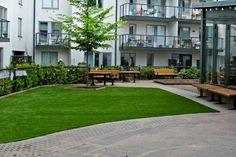 Garten Landschaftsbau Mit Ziegeln ? 15 Tolle Gartengesteltung ... Garten Mit Pool Gestaltung Tipps