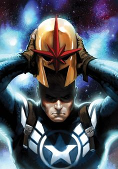 Steve Rogers was the only person that didn't go mad when he put the helmet on - Marko Djurdjevic –– Secret Avengers