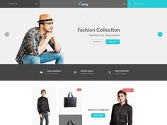 Fancy – eCommerce PSD Template is an awesome design idea for your online shop. Easy and intuitive shopping experience. PSD files are well organized and named accordingly so its very easy to customize and update.Total 10 PSD files have been included.  We have included best practice of web development – you can create great website layout based on Twitter Bootstrap or Grid 1170px. More details:http://1dollarpsd.com/template/fancy-ecommerce-psd-template/