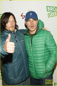 Norman Reedus, Andrew Lincoln & 'Walking Dead' Co-Stars at Sundance '99 Homes' Party!