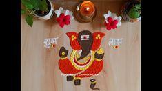 Decoration For Ganpati, Ganpati Bappa, Rangoli Designs, Crochet Earrings, The Creator