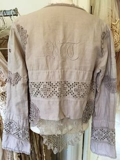RAW RAGS handmade mix jacket by RAWRAGSbyPK on Etsy