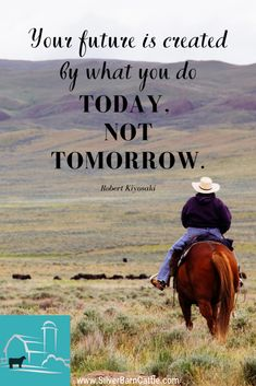 What are YOU doing today that will impact tomorrow?