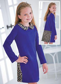 From CWDkids: Leopard Collar Dress