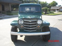 1961 Willys Jeep/Pickup Auto; Restoration; Vintage