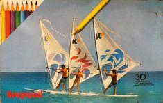 Bruynzeel 4505M30 3 windsurfers