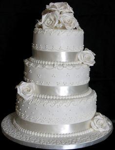 single+layer+wedding+cakes   Cake Studio Botswana