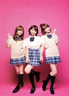 Pile, Riho, and Yurika
