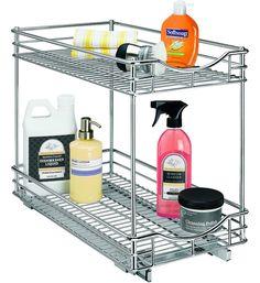 11 Inch Two-Tier Sliding Cabinet Organizer for under kitchen sink?