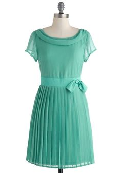 ModCloth Pretty in Pleats Dress
