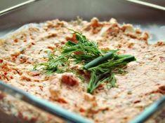 Leckere Paprika-Feta-Creme wie auf dem Wochenmarkt