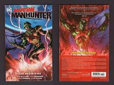 MARTIAN MANHUNTER TPB Vol 2 Red Rising DC 1st Print 2016 NM Trade Comic Book