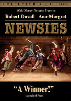 @Overstock - The 1899 New York newsboys' strike is the subject of this full-scale musical set against a stylized backdrop depicting turn-of-the-century New York City. In a series of rousing song and dance routines, choreographer/director Kenny Ortega chronicle...http://www.overstock.com/Books-Movies-Music-Games/Newsies-DVD/70475/product.html?CID=214117 $9.55