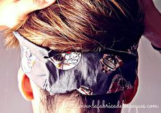Hecho a mano: Cintas de tela para el pelo