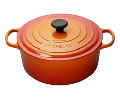 Le Creuset French Round Oven in Flame