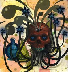SKULLS - Jeff Soto - Happy and Sad at the Same Time