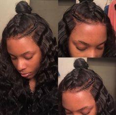 Hair inspiration you could create such a cute bun  www.magicbeautyhair.com  #hairinspiration #repost #hairstyle #hairgoal #cute #blackbeauty #beauty #hairbeauty #naturalbeautiful