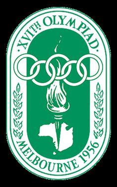 Juegos Olímpicos de Melbourne 1956 en Australia-Logo