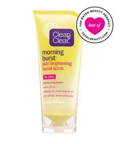 Best Face Scrub No. 1: Clean & Clear Morning Burst Skin Brightening Facial Scrub, $7.09