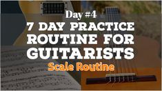 Scales for Guitarists. Day 4 of the 7 Day Practice Routine for Guitarists. Includes printable Circle of Keys, Theory lessons for Melodic and Harmonic minor. Pentatonic Scale Guitar, Music Terms, Guitar Chords Beginner, Guitar Exercises, Guitar Scales, Guitar Tutorial, Music Sing, Guitar Lessons, Theory