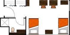 UT Austin Dorm Layout - San Jacinto