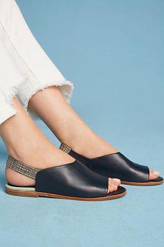 Megumi Ochi Cubic Slingback Sandals