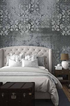 Brillare - Customized Unique Wallpaper, Removable, Washable and Reusable Faux Painting Walls, Unique Wallpaper, Wallpaper Murals, Loft Design, Design Design, Temporary Wallpaper, House Wall, Art Mural, Inspiration Wall