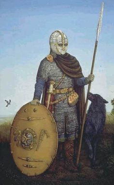 Huscarls, the elite troops of Anglo-Scandinavian England