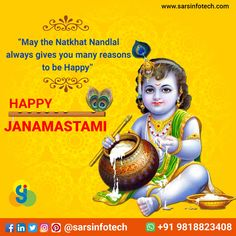 On this Janmashtami, May all your wishes come true, May Nand Gopal shower  His blessings on you & Your family.   #HappyJanmashtami  #KrishnaJanmashtami2020 #Janamashtami2020 #ShriKrishnaJanmashtami #Janmashtami #काशी_मथुरा_की_बारी #श्रीकृष्ण #कन्हैयालाल #JaiShriKrishna #श्री_कृष्ण_जन्माष्टमी  #श्री_कृष्ण_जयंती #कृष्ण