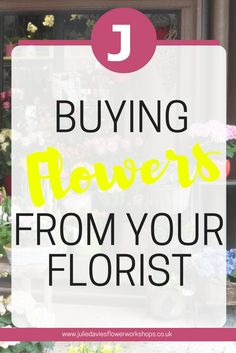 Why aren't you buying flowers from your florist?