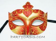 Venetian Eye Mask PartyOasis.com