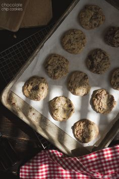 Chocolate Chip Cookies via @Russell van Kraayenburg