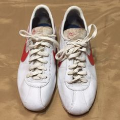 buy popular ae280 dda94 Nike Shoes   Rare Vintage Nike Cortez Shoes   Color  Red White   Size  7