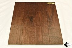 "5"" Engineered Distressed Hickory Nubuck Hardwood Flooring"