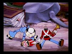 "Walt Disney's ""Broken toys"" (1935) A Silly Symphony, classic holiday cartoons, from the Golden Age of animation."