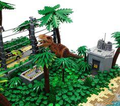 Lego Jurassic World, Jurassic World Fallen Kingdom, Legos, Lego Dinosaur, Lego Dragon, Lego Sculptures, Lego Craft, Lego Room, Cool Lego Creations