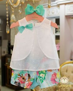 Baby Dress Design, Baby Girl Dress Patterns, Baby Girl Party Dresses, Little Girl Dresses, Fashion Kids, Baby Frocks Designs, Kids Frocks, Cute Baby Clothes, Kids Outfits