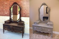 repainting antique furniture