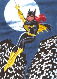 Batgirl by Bruce Timm < I've always liked how Timm gives the women in the DC universe more realistic curves