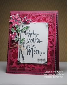 Embossed Embossing and Mother's Love for FM199